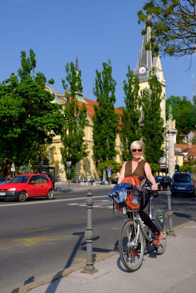 Rayana und ihr Fahrrad