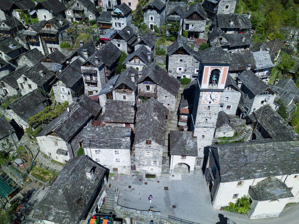 Corippo, das kleinste Dorf der Schweiz