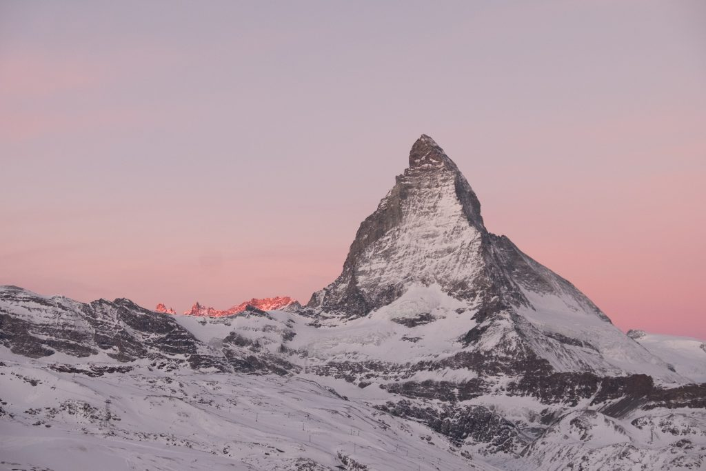 Morgendrama ums Matterhorn