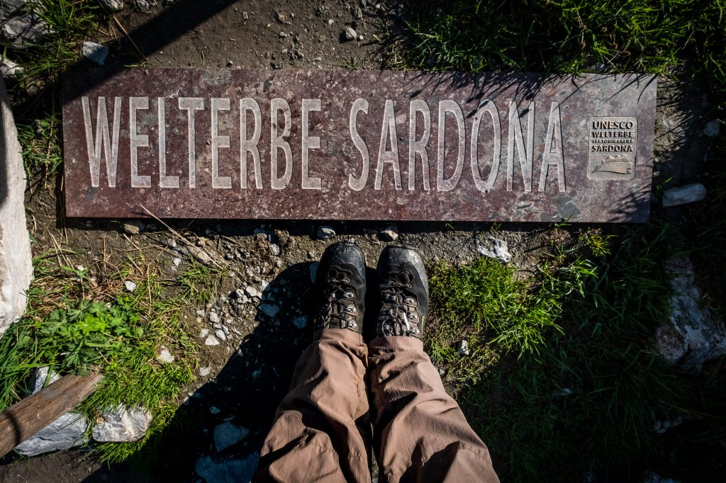 Weltnaturerbe Tektonikarena Sardona